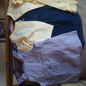 SEVERAL baby girl outfits, dresses, some NEW  Size 12 months
