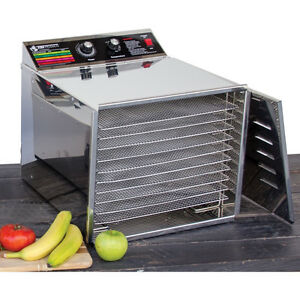 Stainless Steel 10 Shelf Food Dehydrator in Excellent Condition Gatineau Ottawa / Gatineau Area image 1