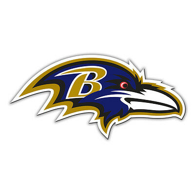 Fremont Die Baltimore Ravens Magnet (NFL Baltimore Ravens 12 inch Auto Magnet Right Facing Die-Cut Logo Fremont)