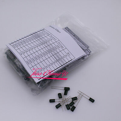 26 Value Dip Polyester Film Capacitor Kit 1nf -470nf 100v 2a104j 520pcs