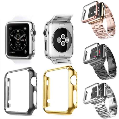 PC Hard Shockproof Protective Case Cover For Apple Watch 4 3 2 1 38/40/42/44mm