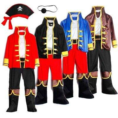 Pirate Costume Kids Halloween Fancy - Kids Halloween Pirate Costumes
