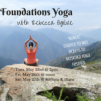 Foundations Yoga for All Levels $15