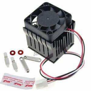 Aluminium Adjustable Heatsink Fin Fan Cooler For PC Northbridge Chipset Cooling