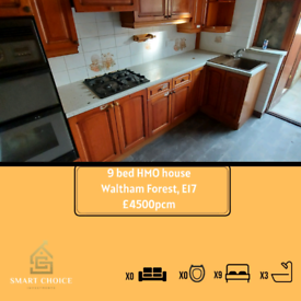 9 bed HMO waltham forest (COMPANY LET) (SUPPORTED LIVING)