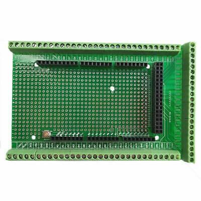 Pcb Prototype Screw Terminal Block Shield Board Kit For Arduino Mega-2560 R3 C
