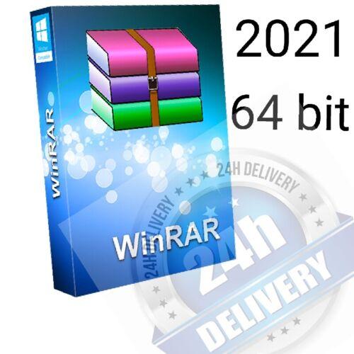 Win RAR 64 bit 2021 lifetime license 24 hours delivery