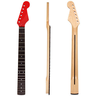Guitar Neck 22 Fret 25.51 inch Maplewood for Electric Guitar Parts Replacement