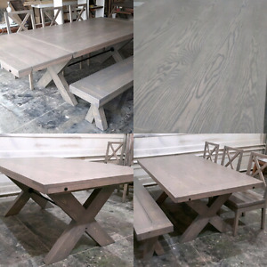 42x60 Trestle Style Dining Table