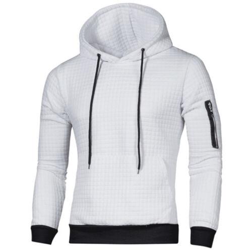 Herren Kapuzen Pullover Pulli Sweatshirt Hoodie Hoody Sport Fitness Freizeit Top