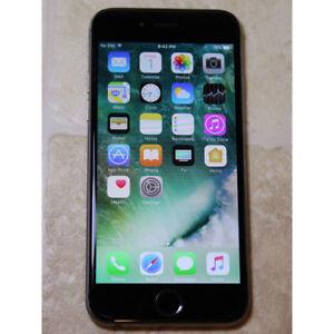 Apple iPhone 6 16GB unlocked used works good black color