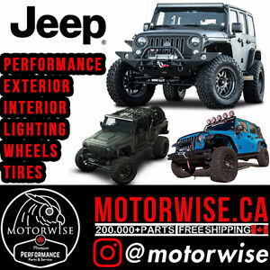 Jeep Parts Performance Parts , Rims, Tires, Exterior/Interior