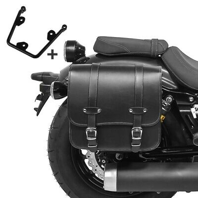 Satteltasche 3L f/ür Kawasaki Vulcan S//Caf/é schwarz Links