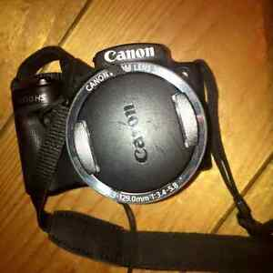 CANON POWERSHOT SX510 HS AND STURDY TRIPOD FOR SALE