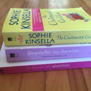 Three Sophie Kinsella books $10