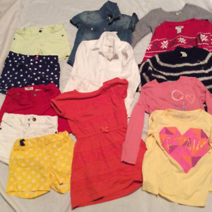 Size 5 girl's assorted Oshkosh clothing