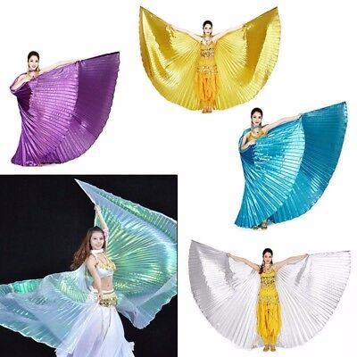 Adult Child India Egypt Professional Belly Dance Costume Dancer Angle Isis Wings - Adult Belly Dancer Costume
