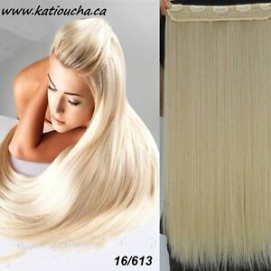 """Clip in hair extension,Straight hair,24"""",60 cm, FUSCHIA OMBRE Yellowknife Northwest Territories image 5"""