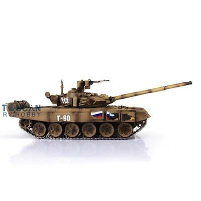 Henglong 1/16 Scale Upgraded Metal Version Yellow Russia T90 RTR RC Tank 3938