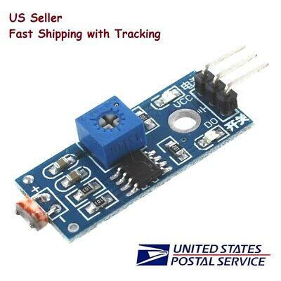 Photoresistor Light Detection Sensor Module For Arduino- Us Seller Fast Shipping