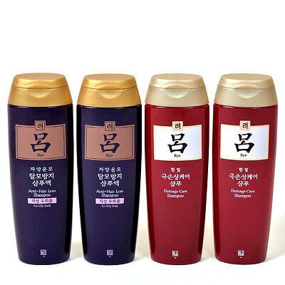 New KOREA AMOREPACIFIC Ryo Hair Loss Prevention Damage Care shampoo 180ml x4pc