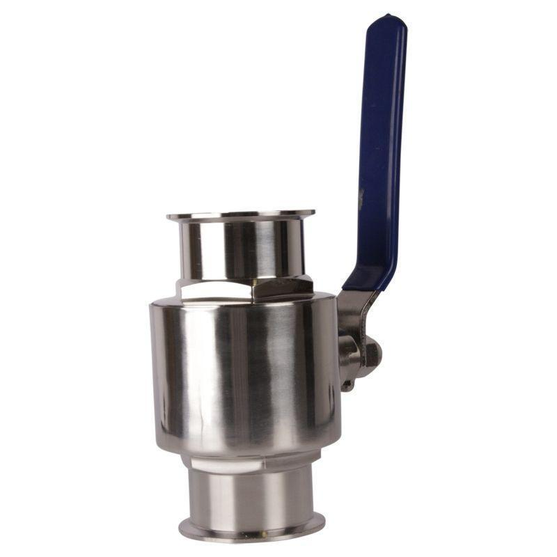 Sanitary Ball Valve | Tri Clamp 3 inch - SS304