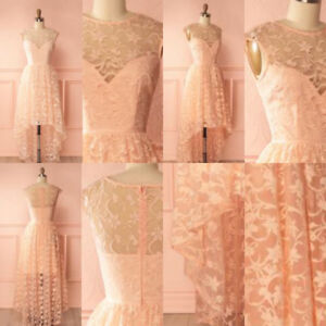 Robe de dentelle rose blush . Boutique 1861