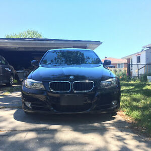 2009 BMW 335i Sedan Black Manual with Nav