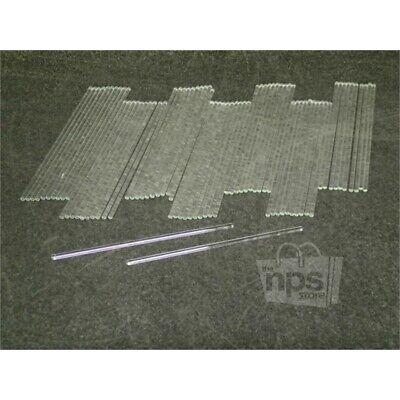 Pack Of 72 Fisher Scientific 11380c Glass Stirring Rods 200mm L X 5mm Dia.