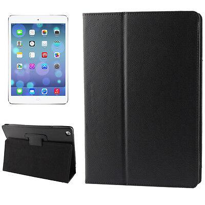 iPad Air 1 Premium PRO Smart Cover Schutz Hülle Case Kunstleder Schwarz Schwarz Leder Ipad Air Cover