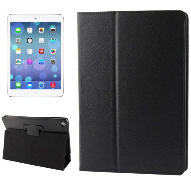 iPad Air 1 Premium PRO Smart Cover Protective Cover Case Faux Leather Black