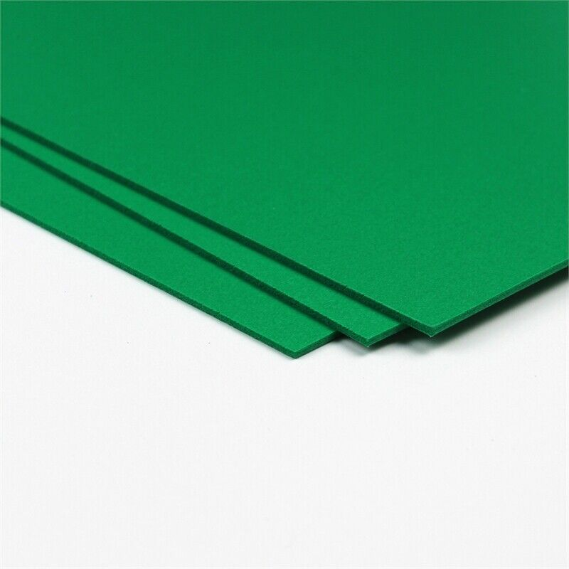 CraftTex Bubbalux Craft Board Forest Green 2 Sheets Large Size 20 x 30