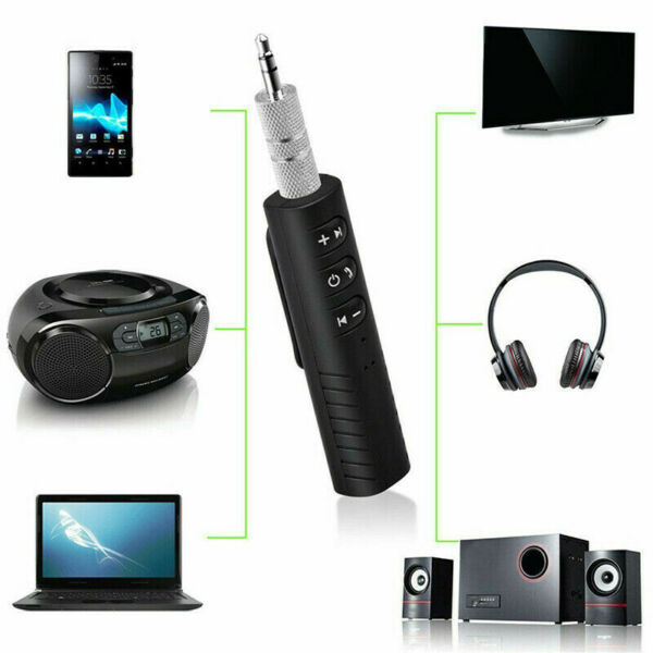 (SOLD OUT) Wireless Bluetooth Receiver 3.5mm AUX Audio Stereo Music Hands-Free Car Adapter headphone