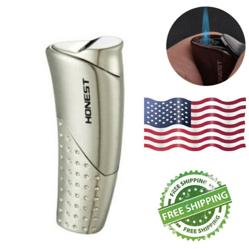 US Portable Refillable Torch Windproof Lighter Butane Torch