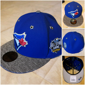 Blue Jays Hats - never worn- all 7 3/8 with tags still on.