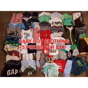 EXCELLENT CONDITION BABY BOY CLOTHING - NB-6MONTHS