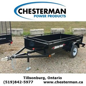 2016 Weberlane 4x8 Steel Utility Trailer (EC850) London Ontario image 1