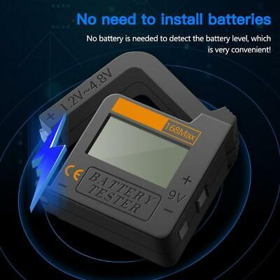 168Max Universal Digital Battery Capacity Tester for Lithium 18650 AA 9V Button