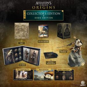Assassins Creed Origins Collectors Gods Edition RARE