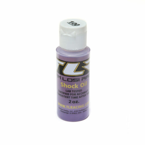 100 wt Silicone Shock Oil 2 Oz Team Losi Racing TLR74018