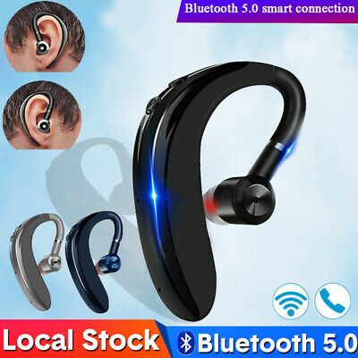 Wireless Bluetooth Headset Headphones Earpiece For Android Phone Handsfree Sport