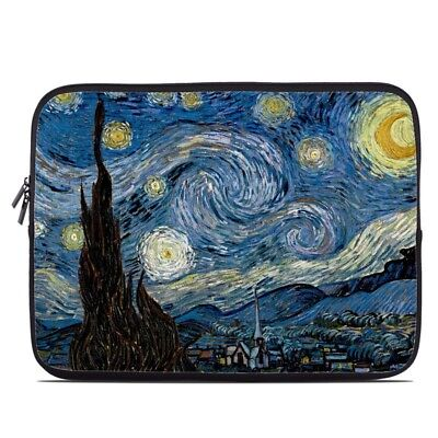 Zipper Sleeve Bag Cover - Starry Night - Fits Most Laptops +