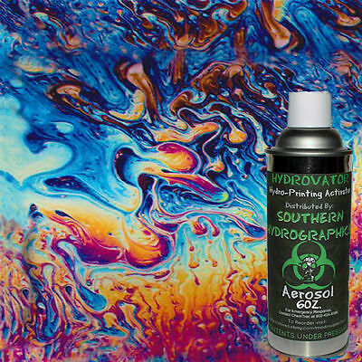 Hydrographic Film Water Transfer Hydro Dip 6oz. Activator Oil Slick