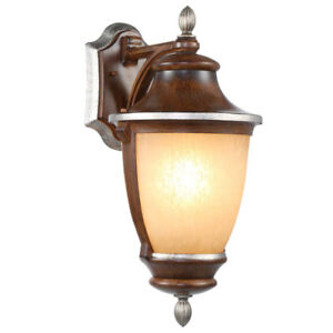Outdoor Wall Mount Mossoro Light (pair; new-in-box)