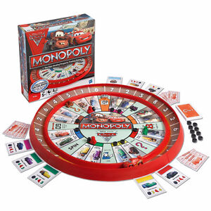 Monopoly Cars 2, Age 5+