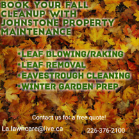 Fall cleanup - Book Now!