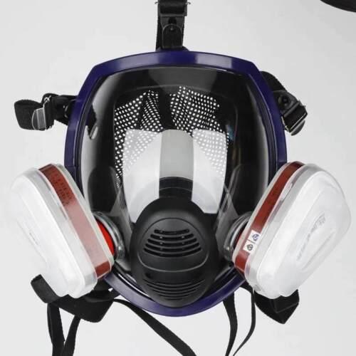 Full Face Gas Mask Facepiece Respirator