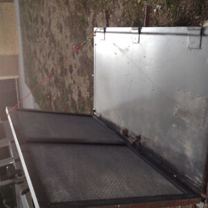 Steel security door gun vault brinks