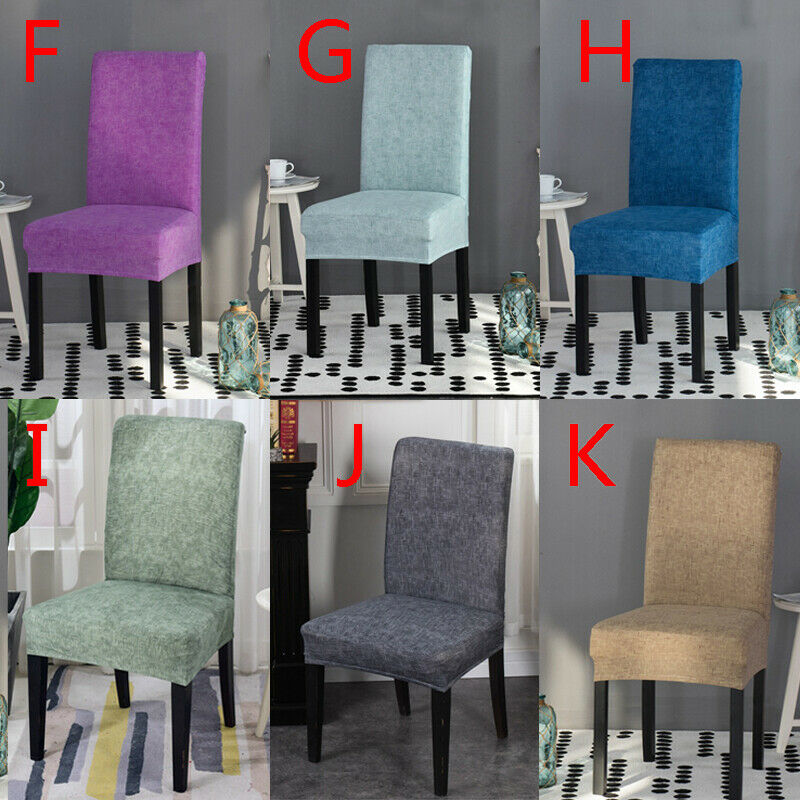 1PC Spandex Elastic Dining Chair Cover Anti-dirty Banquet Chair Seat Case Hot