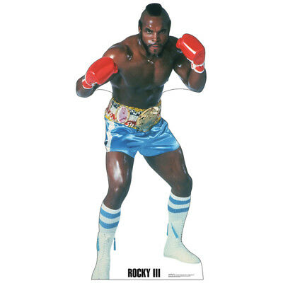 CLUBBER LANG Lifesize CARDBOARD CUTOUT Standup Standee Poster Mr. T Rocky 3 III - Cardboard Standees